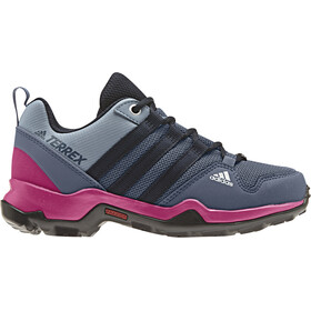 adidas TERREX AX2R ClimaProof Outdoor Shoes Girls Teck Ink/Legend Ink/Real Magenta